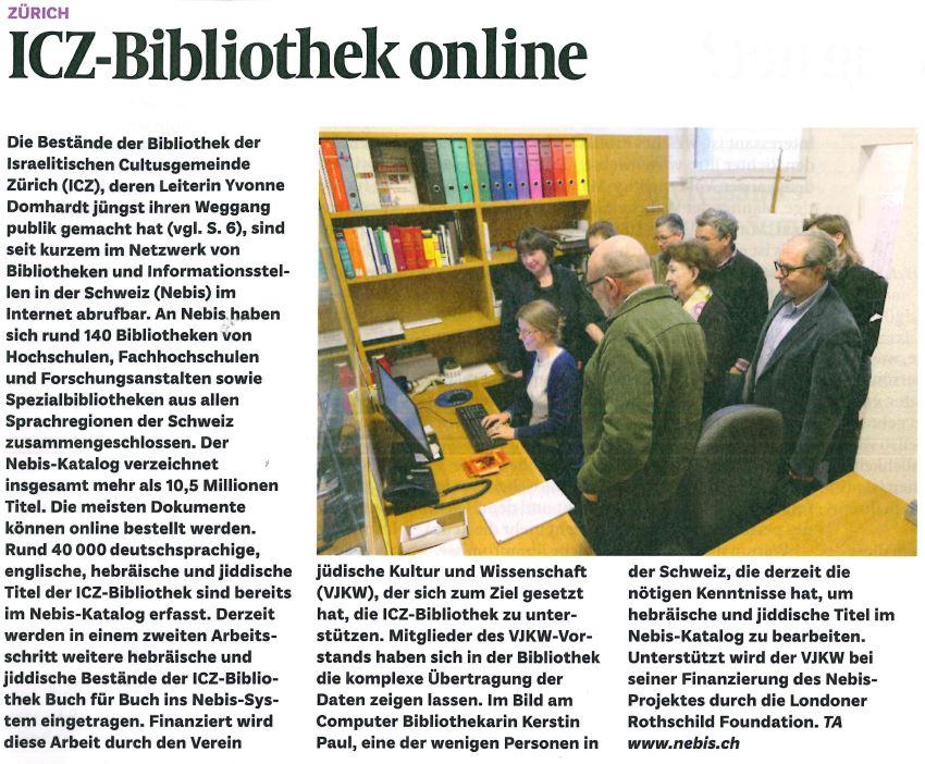 Artikel Bibliothek Online